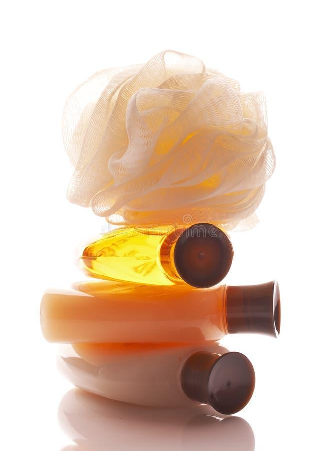Bath products, spa treatment royalty free stock photos