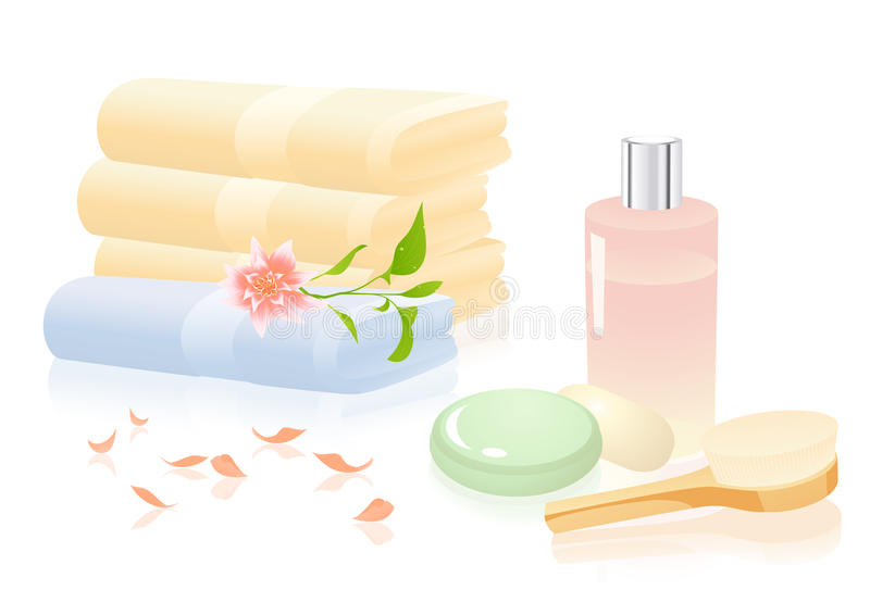 Download Bath Relaxation Objects Stock Photo - Image: 12026790