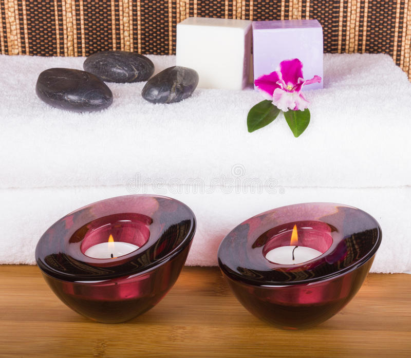 Download Bath and relaxing items stock image. Image of care, soap - 26888973