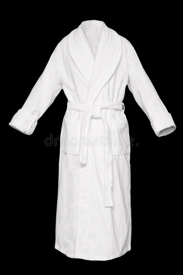 Bath robe stock images