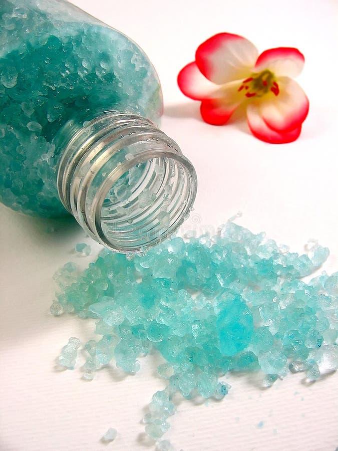 Bath salt stock image