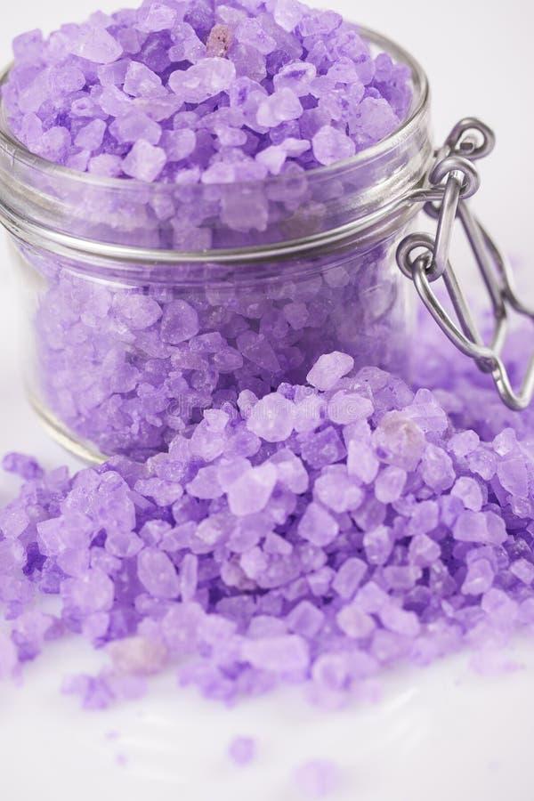 Download Bath salt stock image. Image of aromatherapy, salt, violet - 32483769