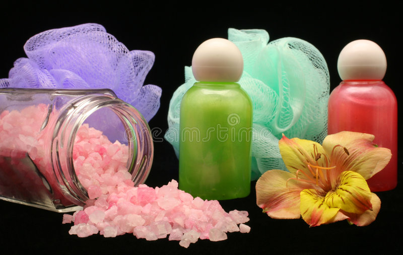 Bath Salts stock photos