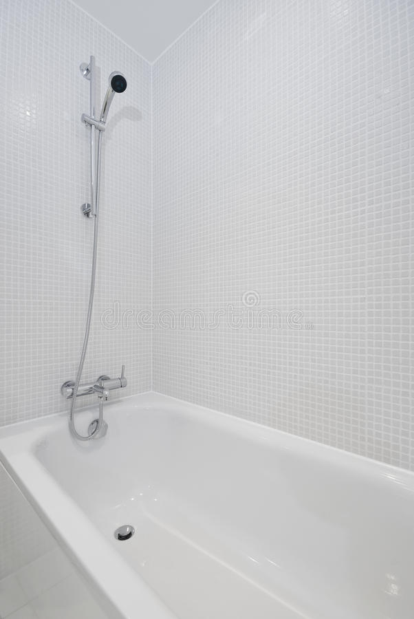 Bath With Shower Attachment Stock Image - Image: 11575167