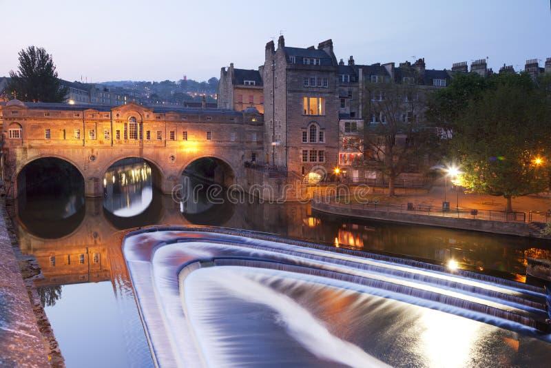 Bath Somerset UK Pulteney Weir and Bridge royalty free stock photos