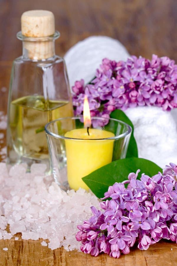 Bath and spa royalty free stock photos
