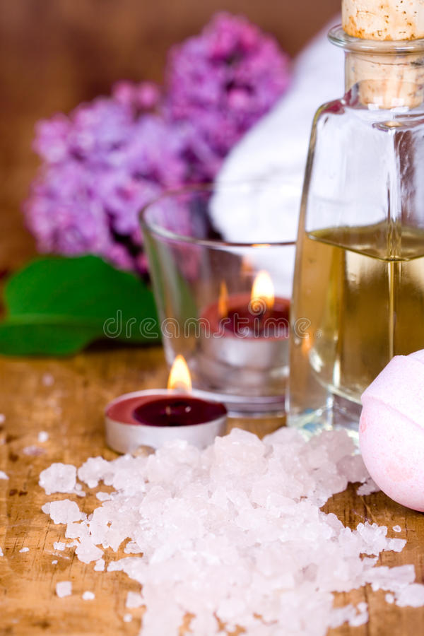 Bath and spa stock images