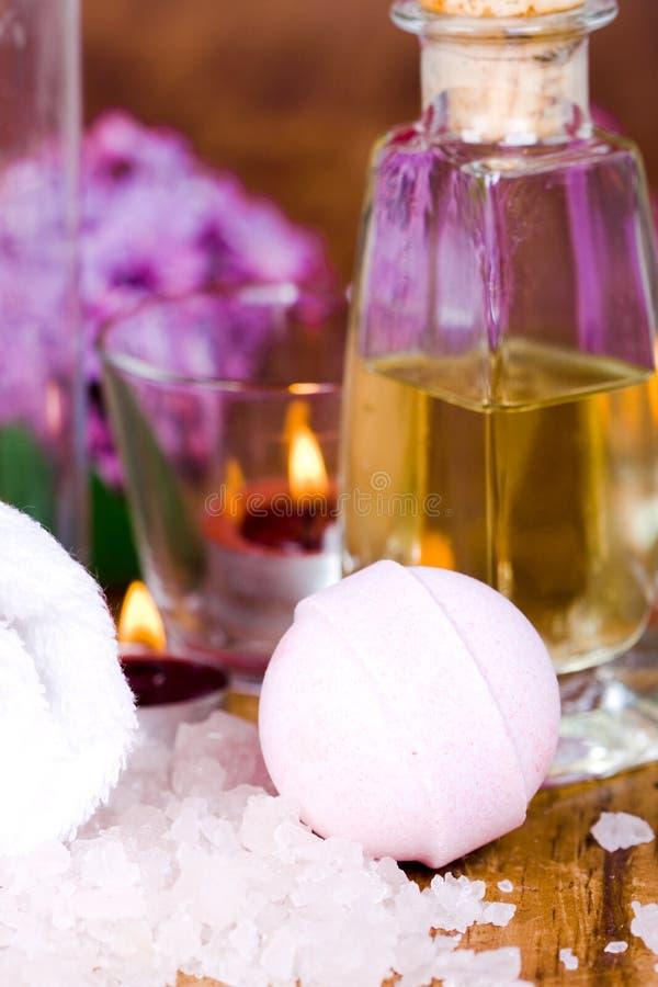 Bath and spa stock image