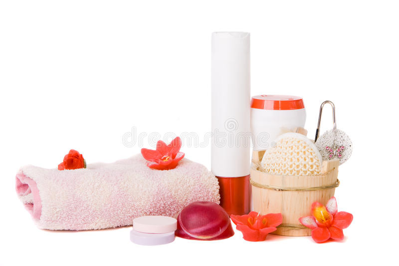 Bath and Spa Accessories stock photos