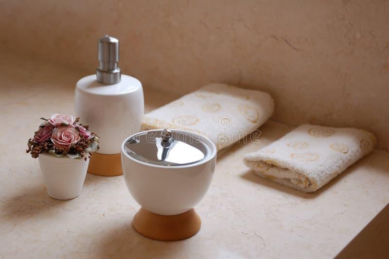 Bath Supplies stock photos
