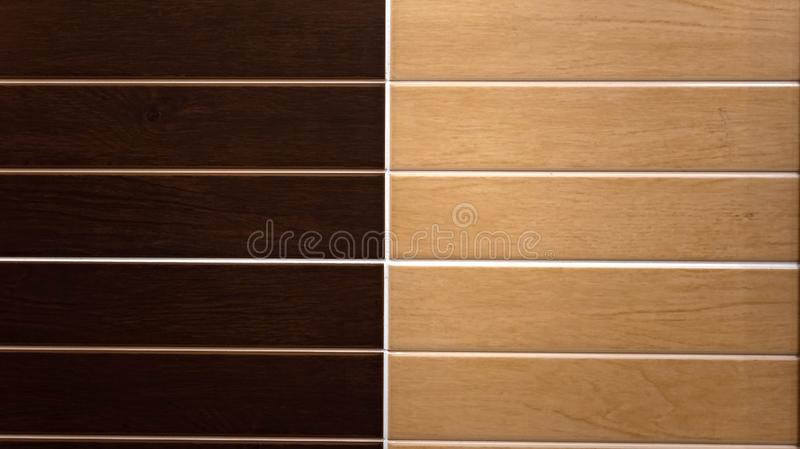 Bath tile wall. Surface background. Bath wall of brown light and dark colors tile wall. Surface background, abstract, architecture, backdrop, brick, block stock image