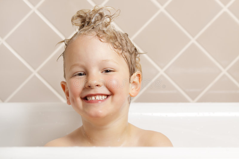 Bath time. royalty free stock photos