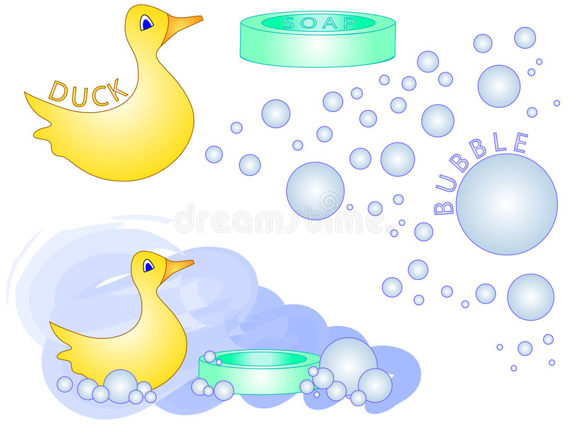 Download Bath Time Rubber Duck [VECTOR] Stock Vector - Illustration of design, perfect: 1471660