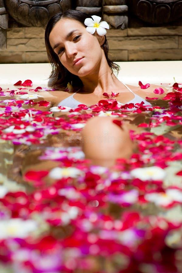 Bath tropical photos libres de droits