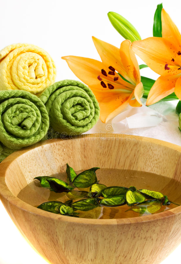 Download Bathand Spa Accessories Royalty Free Stock Image - Image: 18686056