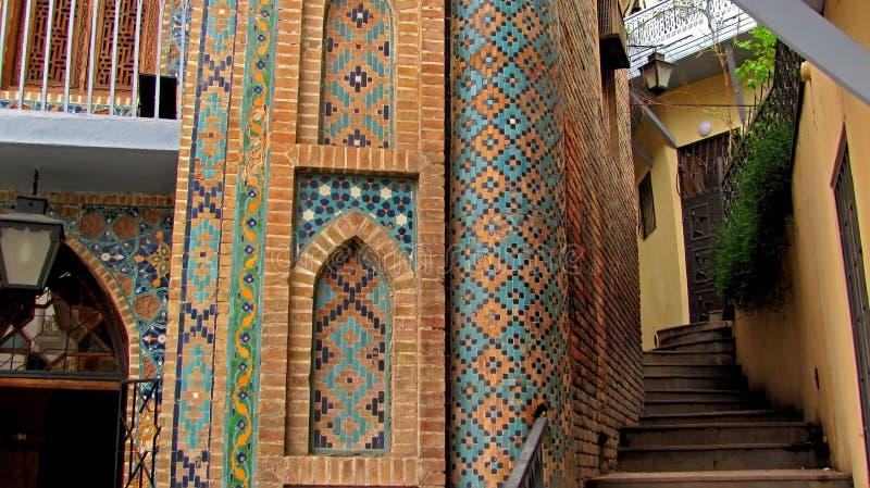 Bathhouse van Tbilisi royalty-vrije stock afbeelding