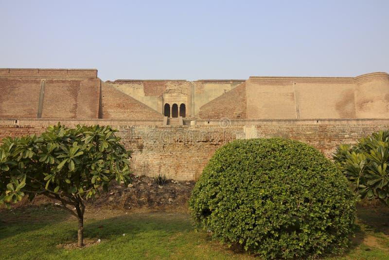 bathinda堡垒的庭院 免版税图库摄影