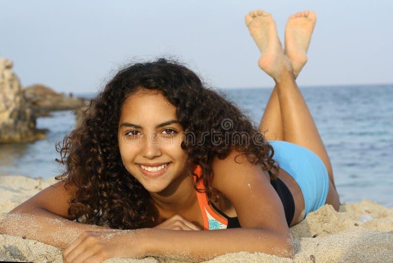 Download Bathing beauty stock image. Image of communicate, sunbath - 887869