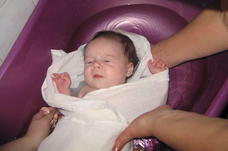 Bathing of the child