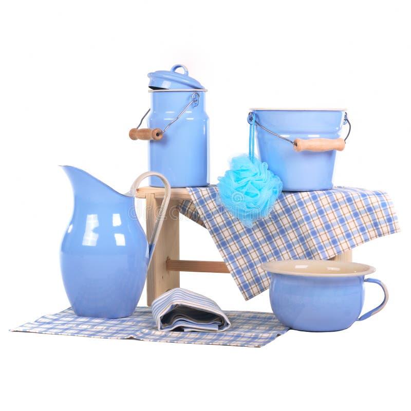 Download Bathing metallic items stock image. Image of pampering - 22335871