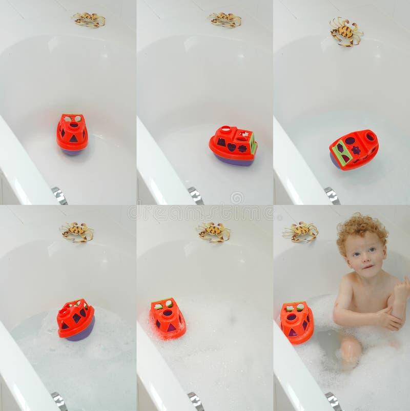 Bathing Time Stock Photo