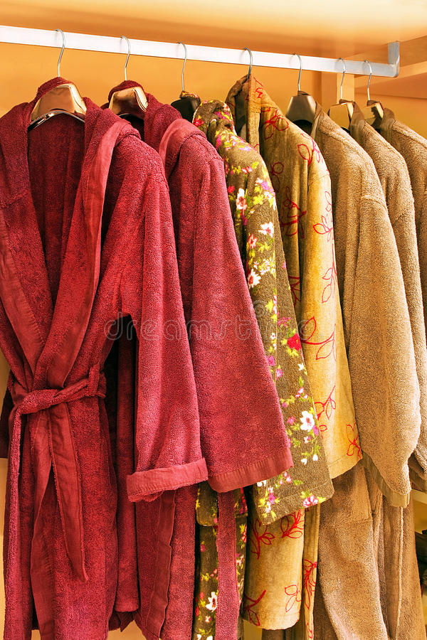 Bathrobe foto de stock royalty free