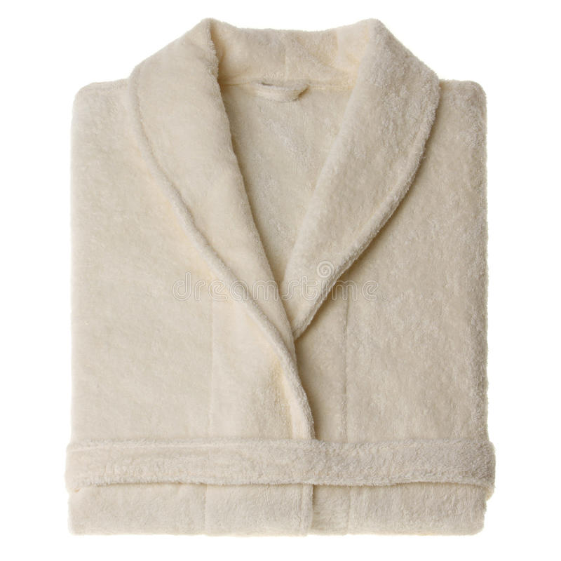 Bathrobe isolated stock photography