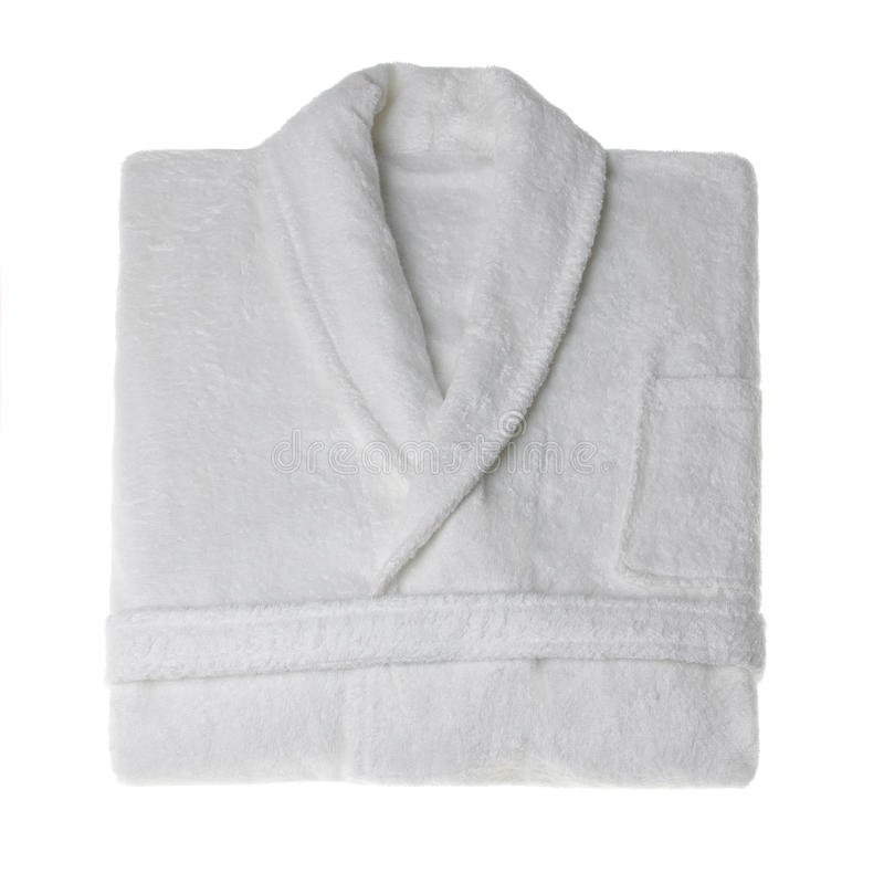 Bathrobe isolated stock photo