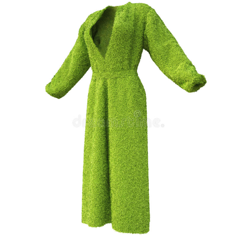 Bathrobe stock illustration