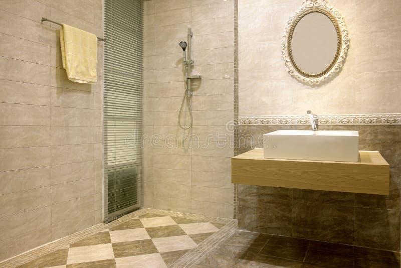 Download Bathroom stock image. Image of manufacture, floor, decoration - 12573681