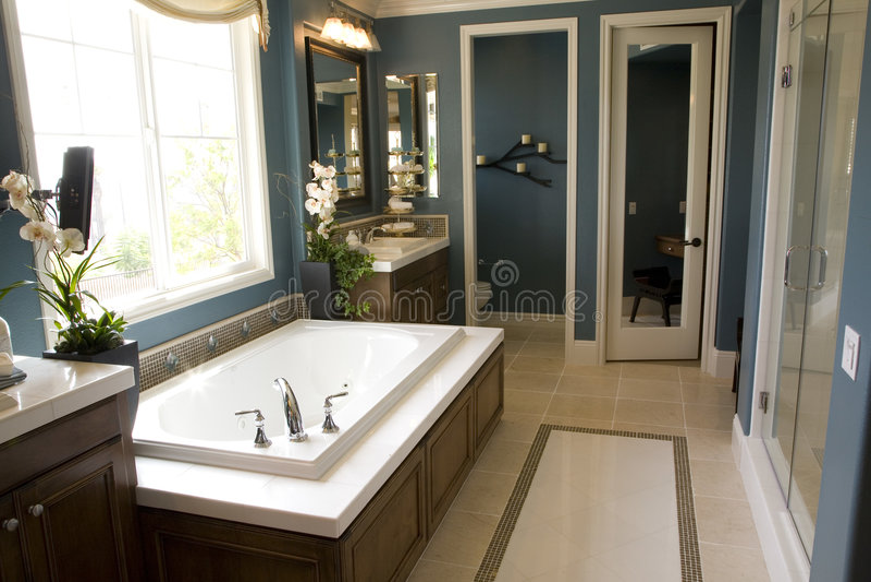 Bathroom 1734 stock photography
