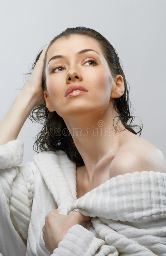 Download Bathroom stock photo. Image of skin, enjoyment, purity - 18751760