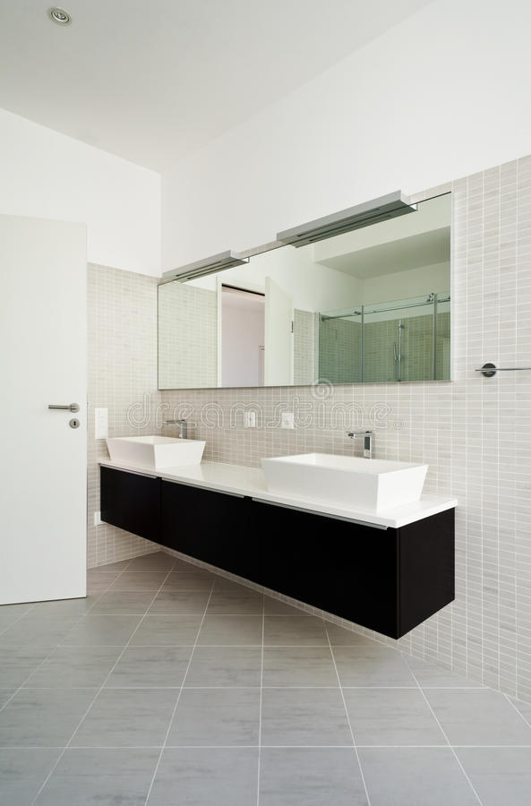 Download Bathroom stock photo. Image of house, floor, perspective - 27011230