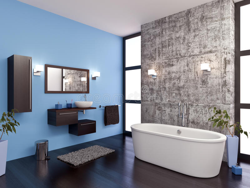 Bathroom royalty free illustration