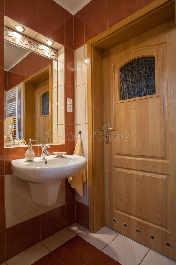 Download Bathroom stock image. Image of liquid, home, round, light - 28024781
