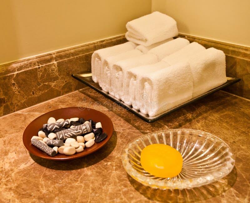 Bathroom Amenities Stock Image
