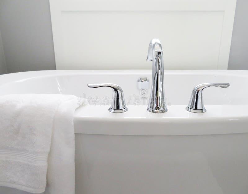 Bathroom, Bathtub, Ceramic stock photography