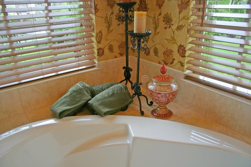 Download Bathroom Corner stock photo. Image of bathing, relaxation - 1306482