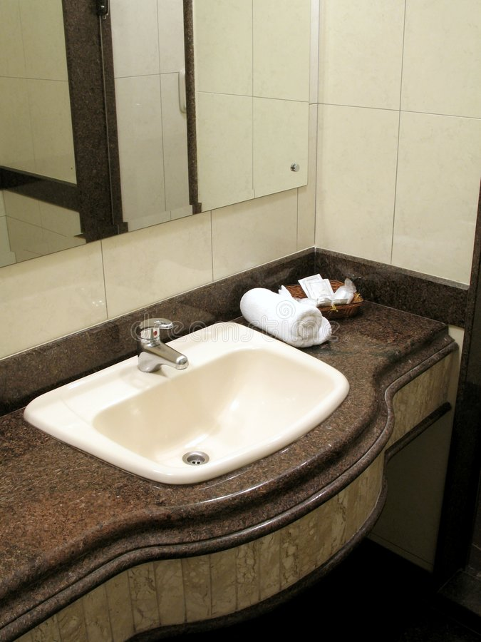 Download Bathroom Counter Royalty Free Stock Photos - Image: 1948008