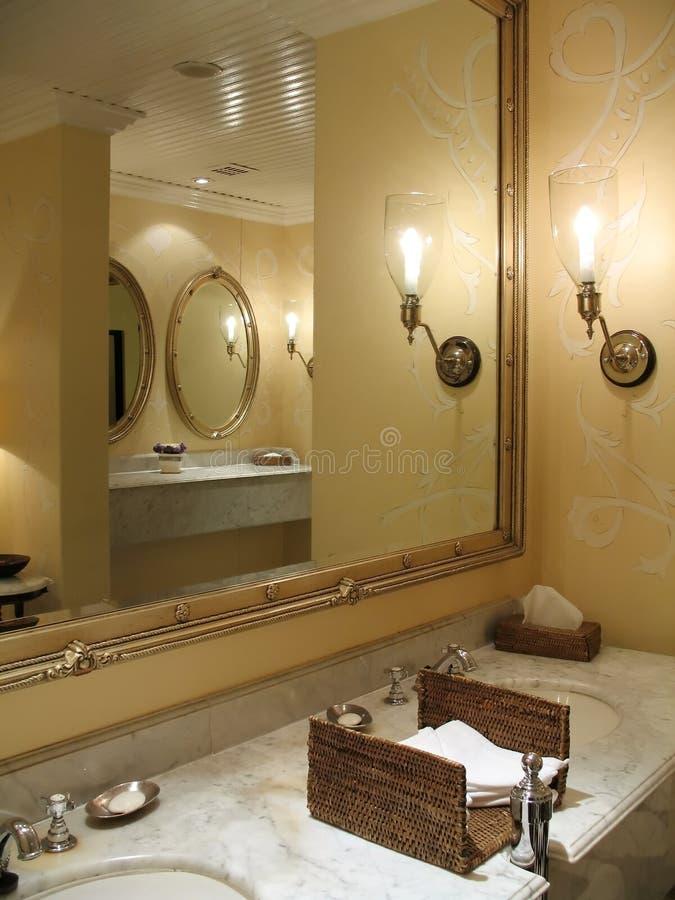 Bathroom Counter - 2 Royalty Free Stock Photo