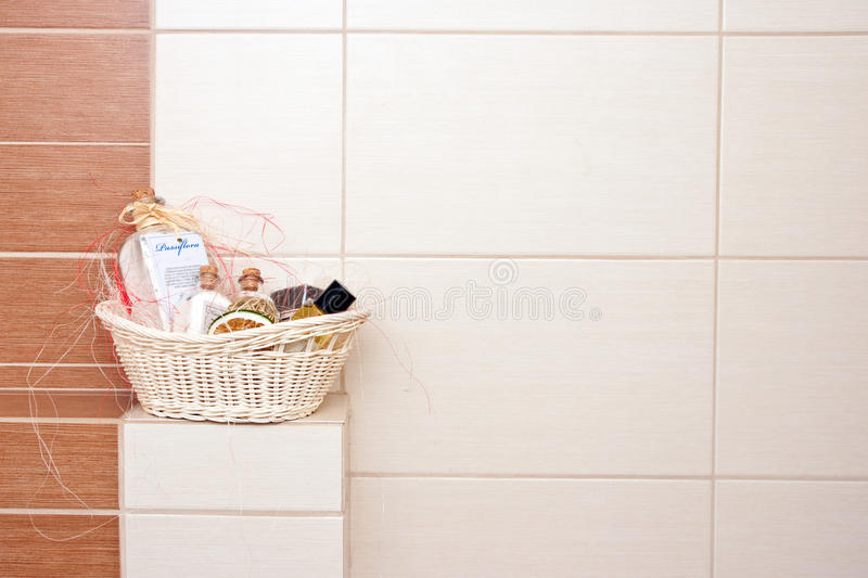 Download Bathroom decorations stock photo. Image of brown, elegance - 23257934