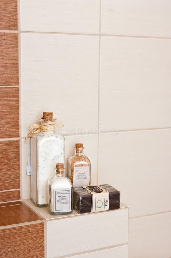 Bathroom Decorations Royalty Free Stock Photo