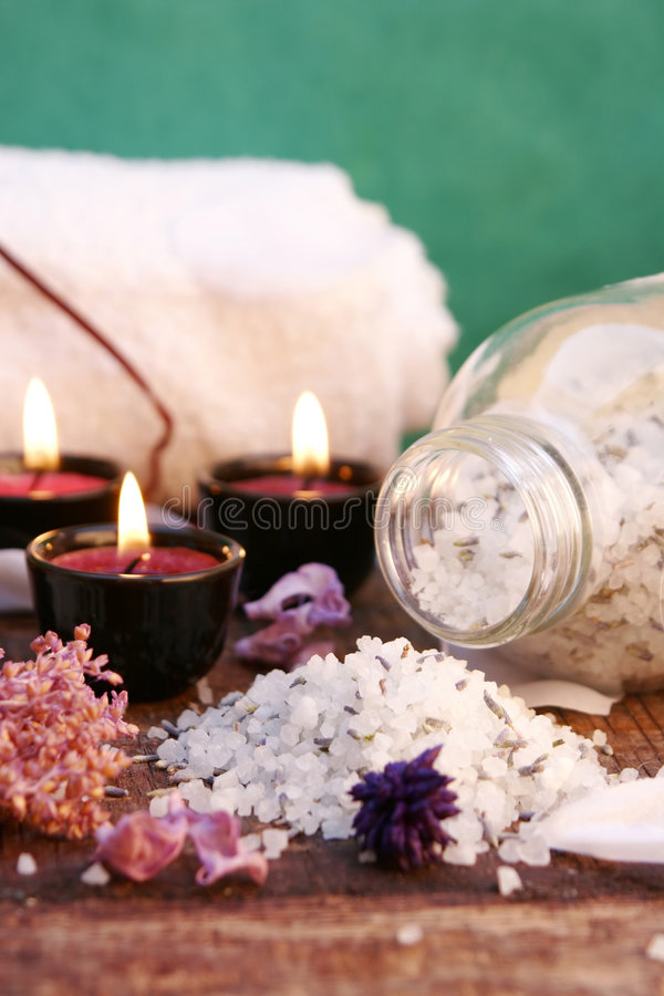 Download Bathroom essentials stock photo. Image of spirit, salt - 1475268