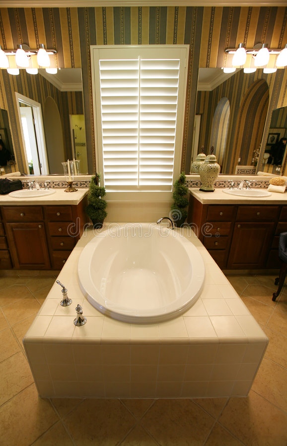 Bathroom Interior royalty free stock images