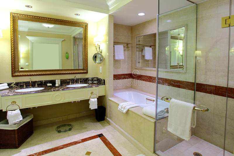 BATHROOM INTERIOR royalty free stock image