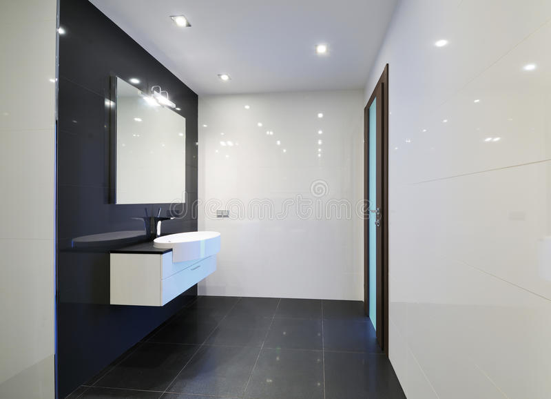 Download Bathroom interior stock photo. Image of bathtub, structure - 26212276