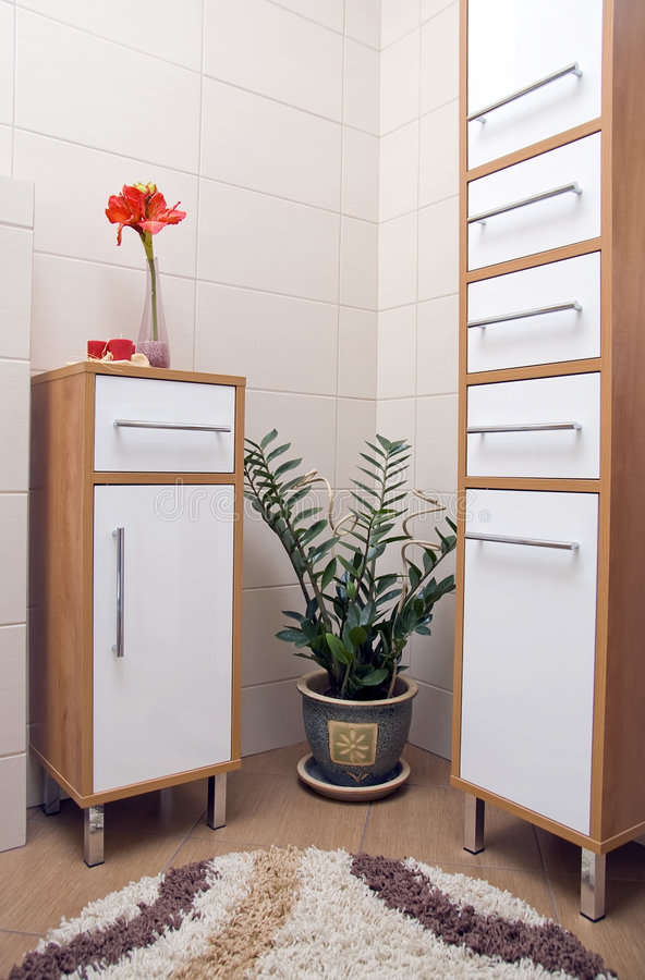 Download Bathroom interior stock image. Image of inside, corner - 3559977