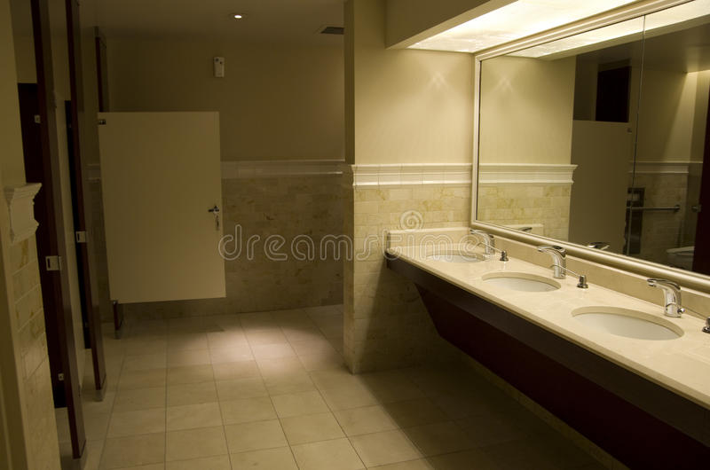 Bathroom interior lighting royalty free stock images