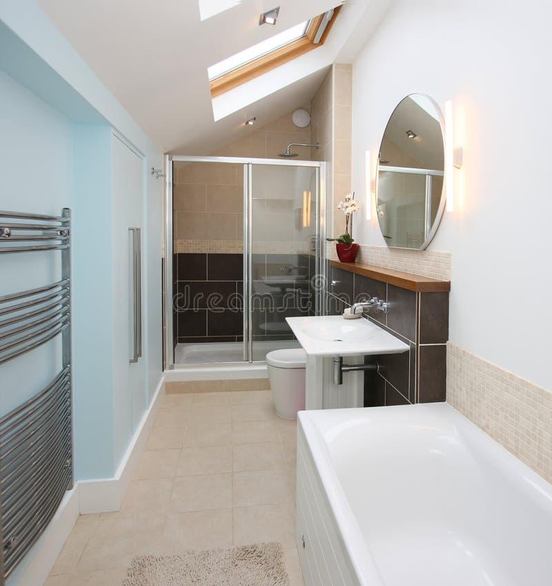 bathroom interior modern στοκ εικόνα με δικαίωμα ελεύθερης χρήσης