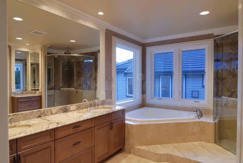 bathroom master στοκ εικόνα